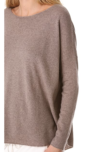 Vince Shirttail Sweater