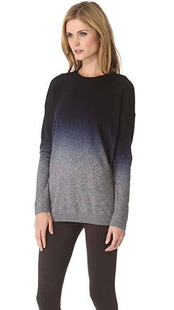 Vince Dip Dye Oversized Sweater
