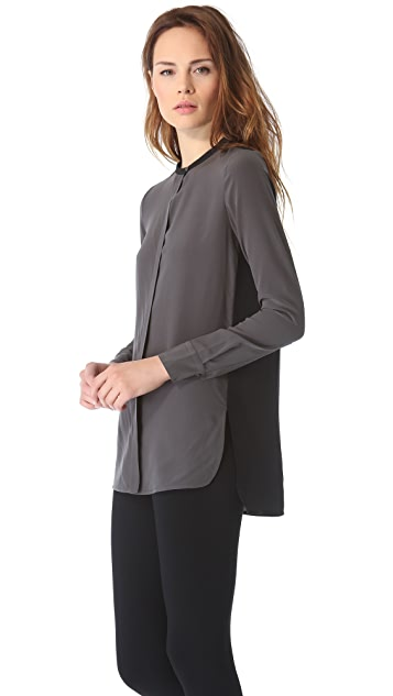Vince Colorblock Blouse