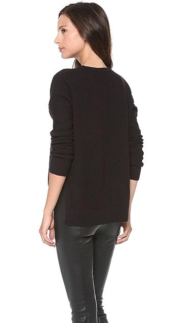 Vince Split Side Thermal Sweater