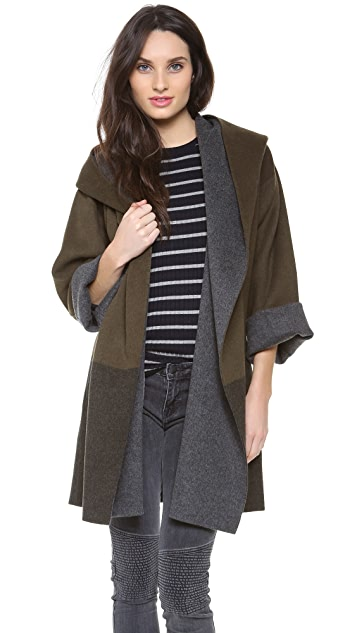 Vince Colorblock Coat