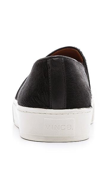 Vince Blair Haircalf Slip On Sneakers