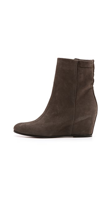 Vince Michela Suede Wedge Booties