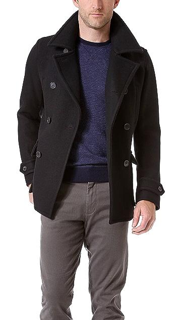 Vince Stadium Pocket Pea Coat