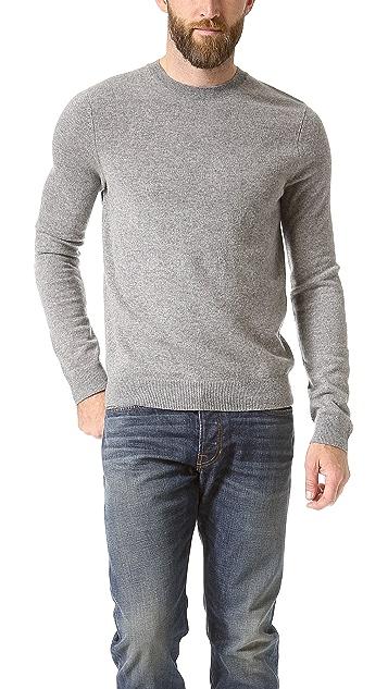 Vince Cashmere Crew Neck Sweater