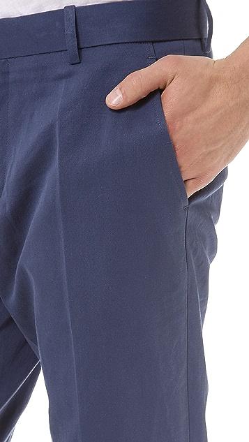 Vince Linen Blend Suit Trouser