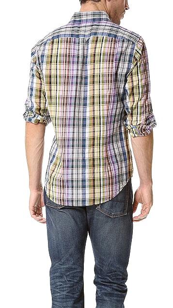 Vince Plaid Sport Shirt