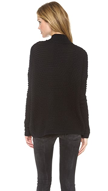 Vince Textured Mock Neck Sweater