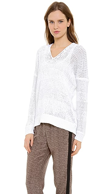 Vince Open Knit Sweater