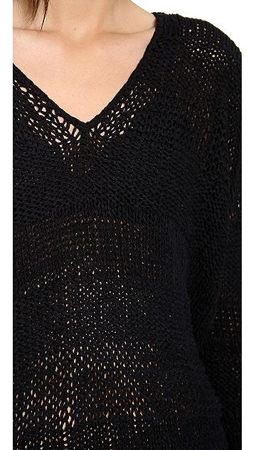 Vince Open Knit Sweater