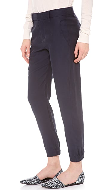 Vince Slouchy Cuffed Trousers