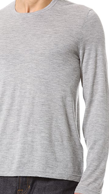 Vince Cashmere Long Sleeve T-Shirt