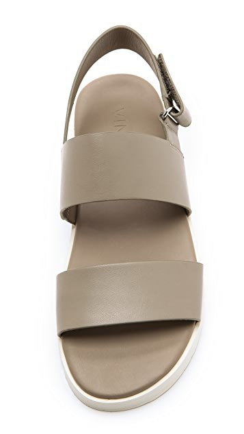 f230614c1 Vince Brennen Two Band Flat Sandals | SHOPBOP