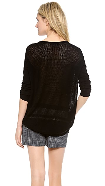 Vince Cashmere Boat Neck Sweater