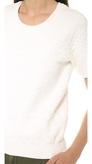 Vince Jacquard Tee Sweater
