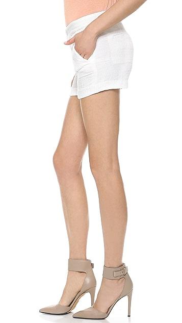 Vince Pintuck Jacquard Shorts