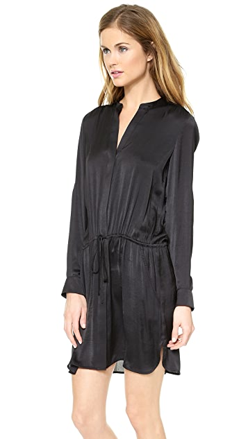 Vince Popover Tunic Dress