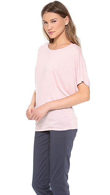 Vince Tapered 3/4 Sleeve Tee
