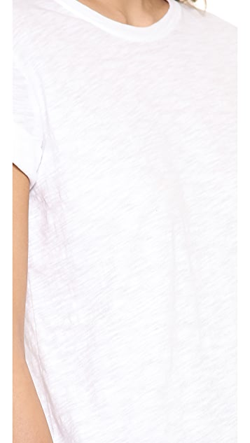 Vince Rolled Sleeve Crew Tee