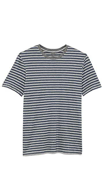 Vince Multi Stripe T-Shirt