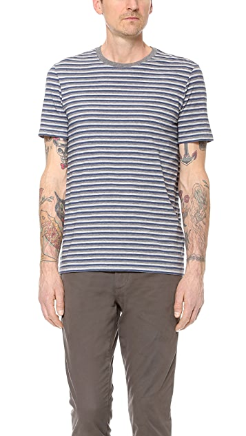 Vince Multi Stripe T-Shirt