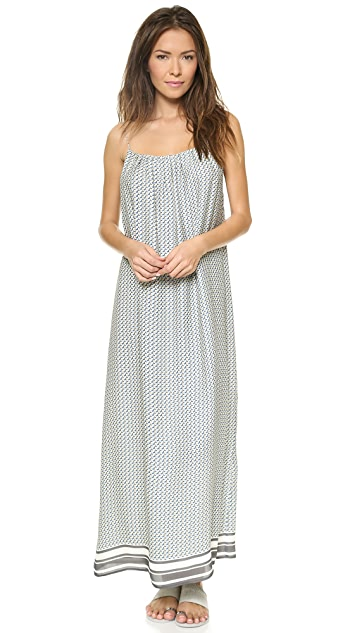 Vince Border Maxi Dress