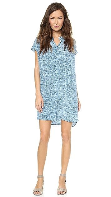 Vince Static Print Dress