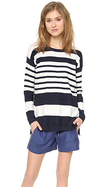 Vince Striped Sweater