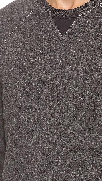 Vince French Terry Sweatshirt