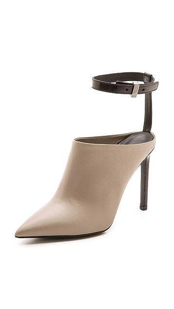 Vince Armon Ankle Strap Mules