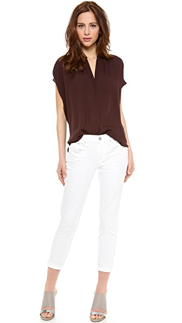 Vince Placket Blouse
