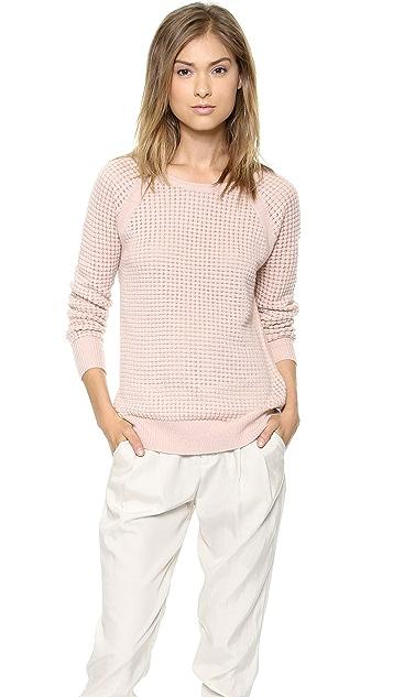 Vince Raglan Thermal Cashmere Sweater