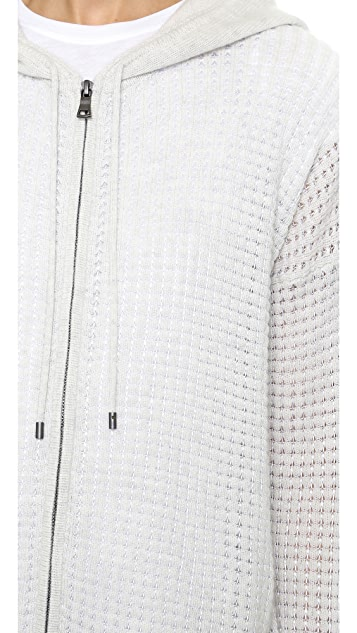 Vince Thermal Cashmere Hoodie
