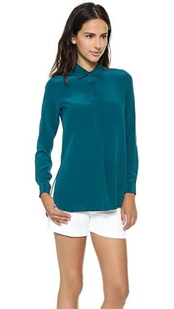 Vince Half Placket Tunic