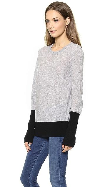 Vince Colorblock Cashmere Sweater
