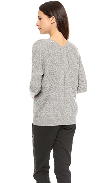 Vince Brick Texture Sweater