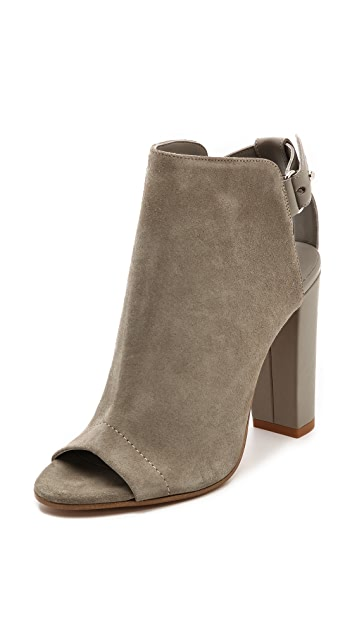 Vince Addison Peep Toe Booties