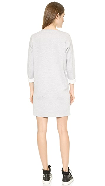 Vince Double Face Sweater Dress