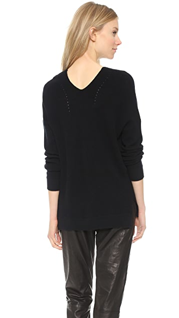 Vince Vee Layout Cashmere Sweater