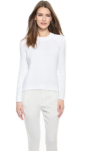 daa9ee2d06 Vince Engineered Rib Sweater
