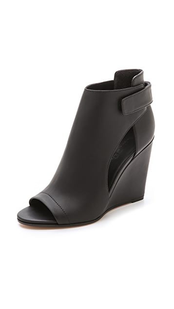 Vince Katia Wedge Booties