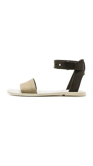 Vince Sawyer Ankle Flat Sandals