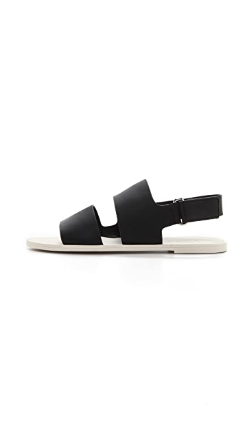 Vince Sorce Two Band Sandals