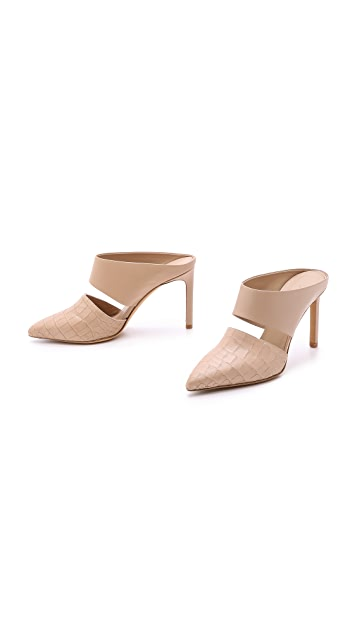Vince Corrine Pointy Toe Mules