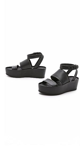 Vince Vienna Flatform Sandals