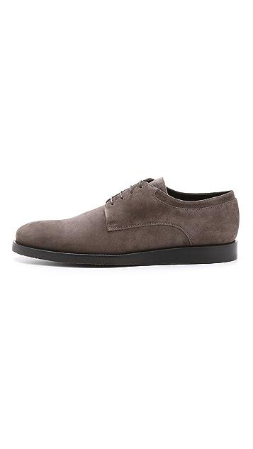 Vince Harris Plain Toe Blucher Shoes