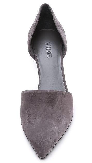 Vince Замшевые туфли-лодочки Aurelian в стиле d'Orsay
