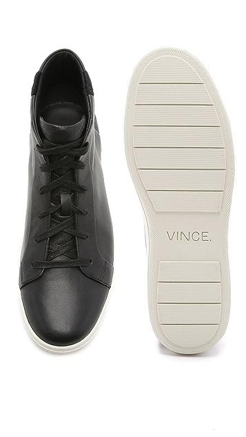 Vince Atlas Haircalf High Top Sneakers