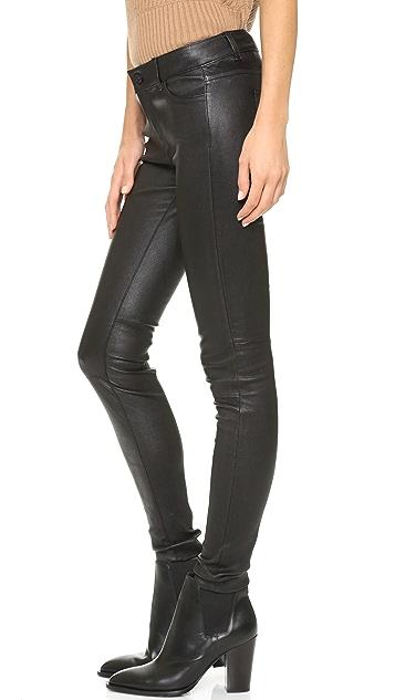 Vince 5 Pocket Leather Pants