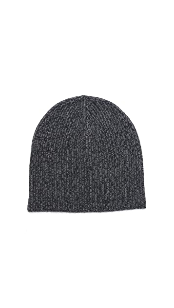 Vince Rib Marl Cashmere Hat